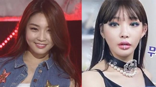 "Chungha Criticized for Having ""Too Much Lip Filler"" + K-netizens' Reactions"
