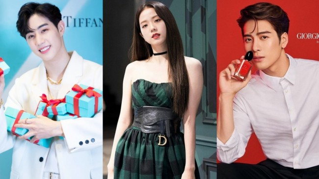 K-pop Idols Who Are Chosen as Ambassadors and Model for Top Luxury Brands