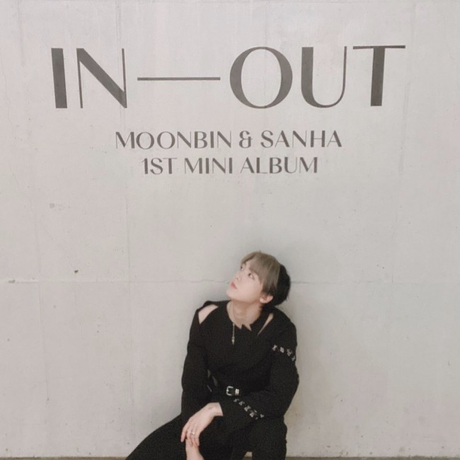 Astro Moon Bin & San-ha released 'IN-OUT', Skilled unitkey=>3 count12