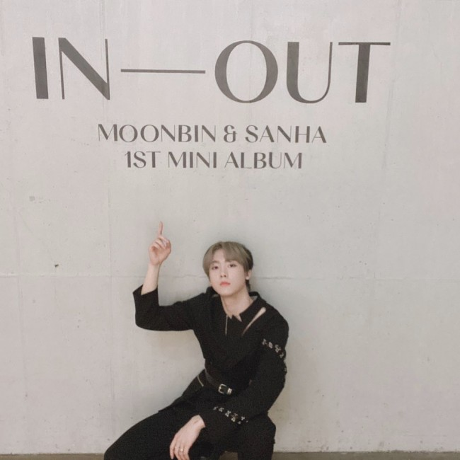 Astro Moon Bin & San-ha released 'IN-OUT', Skilled unitkey=>4 count12