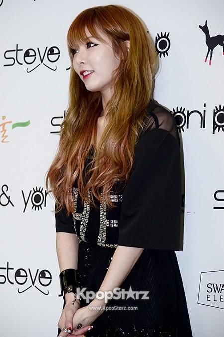 4minute HyunA Wears Grungy Attire at 'Steve J & Yoni P ...Hyuna 2013